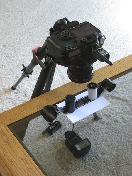 Сканируем Негативы Зеркальнsv Фотоаппаратом *