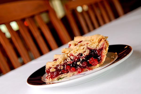 This pie picture was shot to be tack sharp.