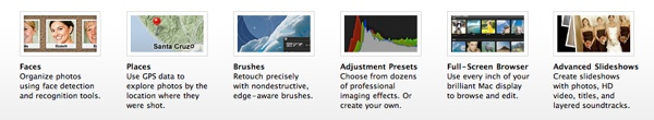 aperture 3 features