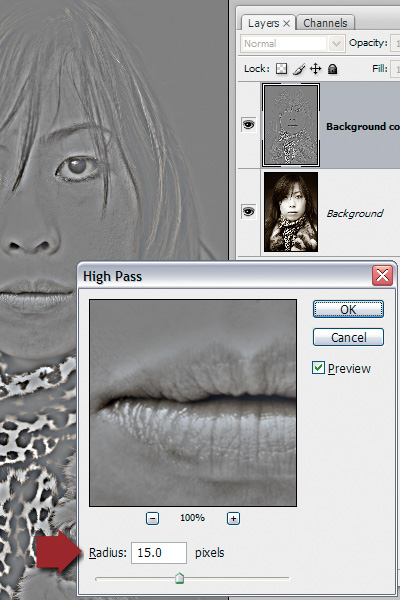 high pass filter photoshop