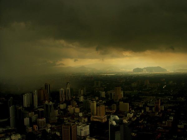 tokyo dark city skyline - photo #20