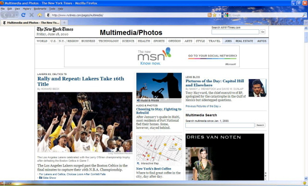 photojournalism news websites