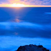 How to Create a Beautiful Seascape in Thirty Seconds