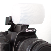 How To Diffuse Your Pop-Up Flash with a Fong Puffer