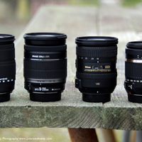 Comparing Four Fantastic Lenses for Travel